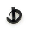Billede af Knæk creol  kantet profil sort stål udv. dia 13,5 mm br. 3mm