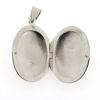 Billede af by Pind blank medaljon sølv