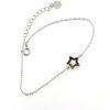 Billede af By Pind Rainbow armbånd stjerne sølv rhodineret