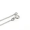 Billede af Classic by Pind halskæde rund anker sølv rhd m vedhæng m 8mm syn.zir