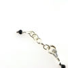 Billede af By Pind armbånd sølv med sort spinel