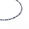 Billede af By Pind Colorful knyttet armbånd med lapis sten og sølv