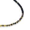 Billede af By Pind  Colorful armbånd  med spinel, pyrit og røgkvarts, sølvforgyldt