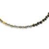 Billede af By Pind  Colorful armbånd  med pyrit,labradorit sølvforgyldt