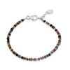Billede af By Pind  Colorful armbånd  med mix turmelin,sølv