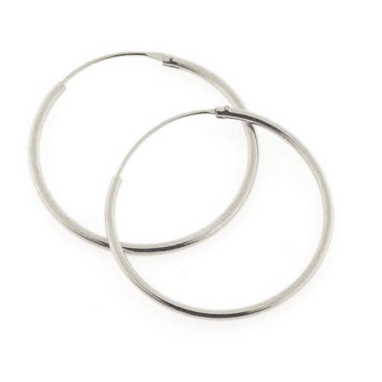 Billede af Classic by Pind creol 1,2*25 mm. sølv med vippelås