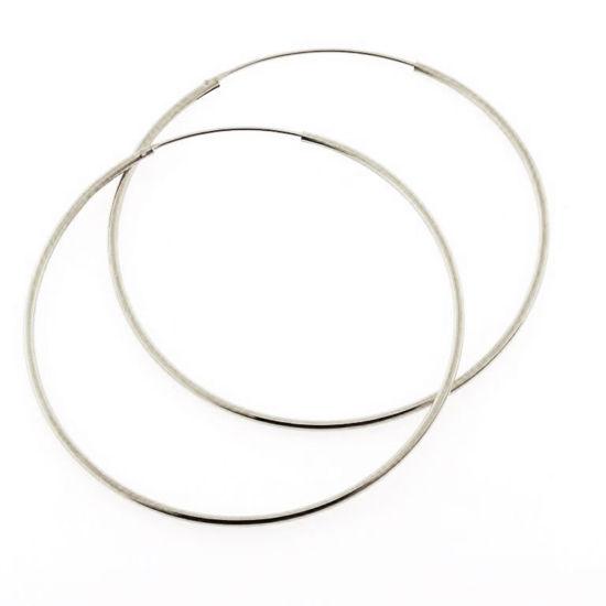 Billede af Classic by Pind creol 1,2*45 mm. sølv med vippelås