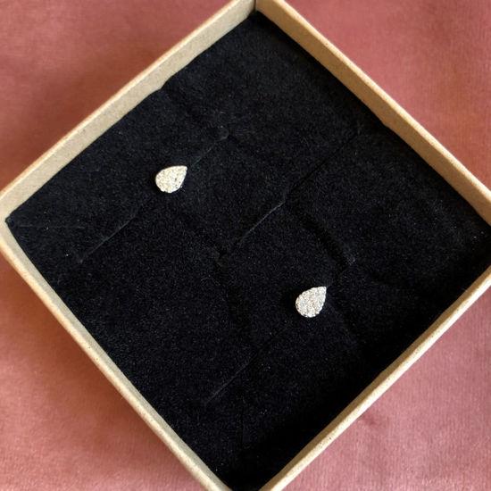 Billede af By Pind ørestikker sølv med små zirkoniasten