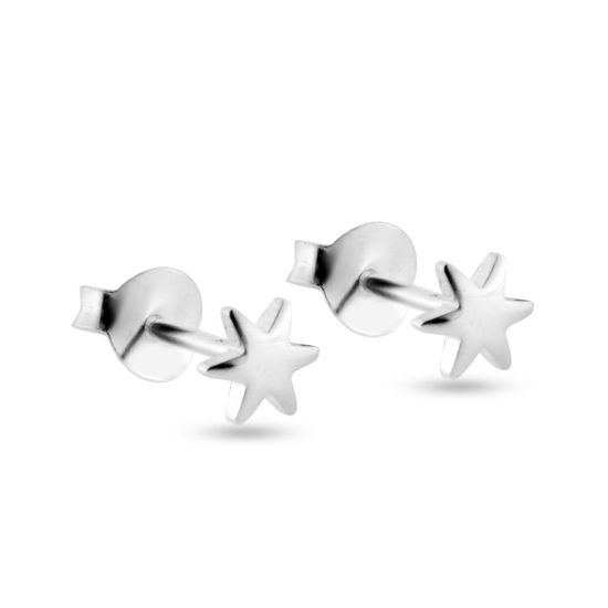 Billede af By Pind ørestikker sølv stjerne