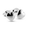 Billede af By Pind ørestikker sølv hjerte