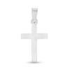 Billede af By Pind vedhæng sølv blankt kors 20x25mm