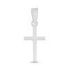 Billede af By Pind vedhænh sølv blankt kors 11x20mm