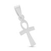Billede af By Pind blankt  kors sølv med hank livets nøgle