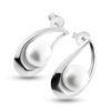 Billede af By Pind ørestik sølv dråbeformet med perle