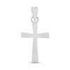 Billede af By Pind vedhæng sølv kors runde kanter