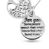 Billede af By Pind halskæde sølv For you tree of Life (40, 45 eller 50 cm)