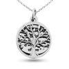 Billede af By Pind halskæde sølv Family tree of Life