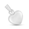 Billede af By Pind vedhæng sølv lille hjerte