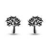 Billede af By Pind ørestikker sølv livets træ