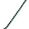 Billede af By Pind tennisarmbånd sølv rhodineret med grønne zirkoniasten